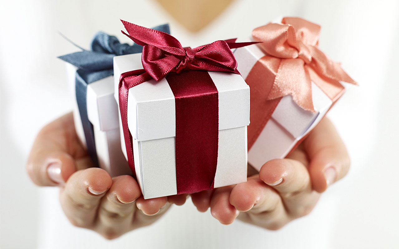 Giving three gifts