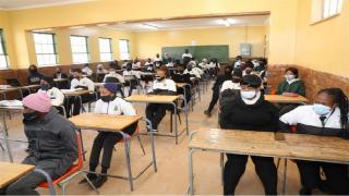 learners in school classroom