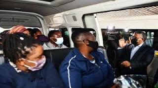 Transport Minister Fikile Mbalula