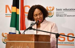 Basic Education Minister Angie Motshekga