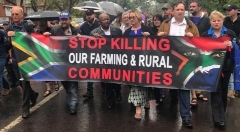 farm murder protest