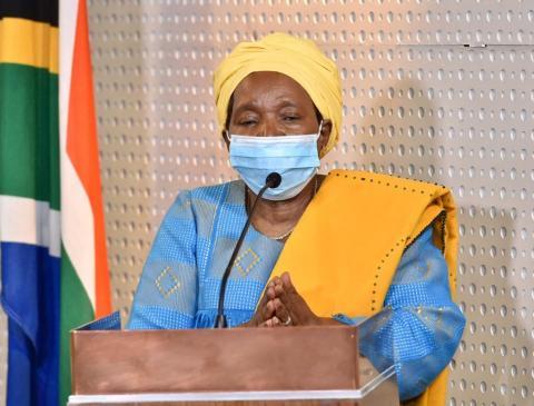 minister Nkosazana Dlamini-Zuma