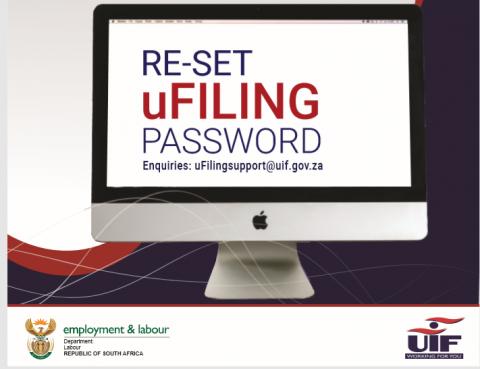 Ufiling password reset