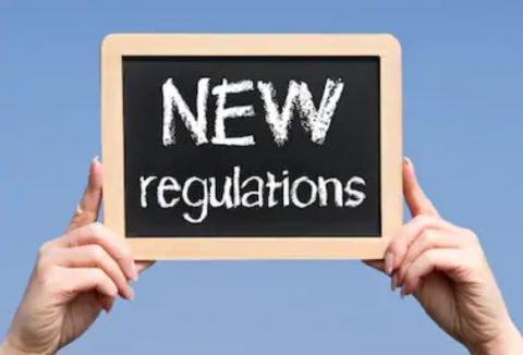 new regulations notice