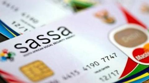 SASSA cards stacked