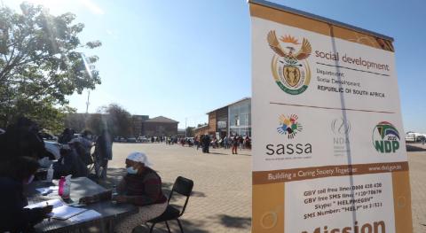Department of Social Development vaccination centre