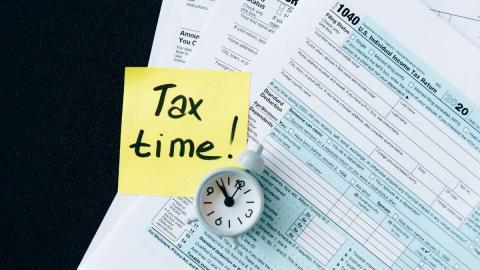 Tax time stickit