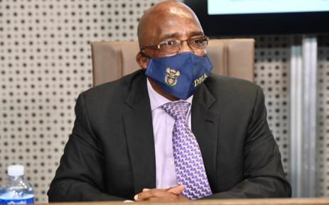 Home Affairs Minister Aaron Motsoaledi