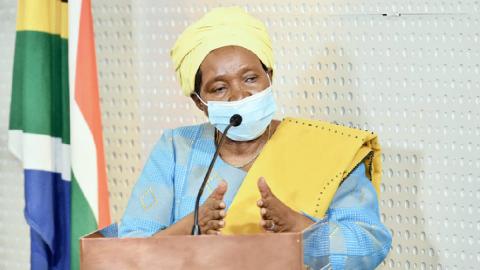 Cogta Minister, Dr Nkosazana Dlamini Zuma
