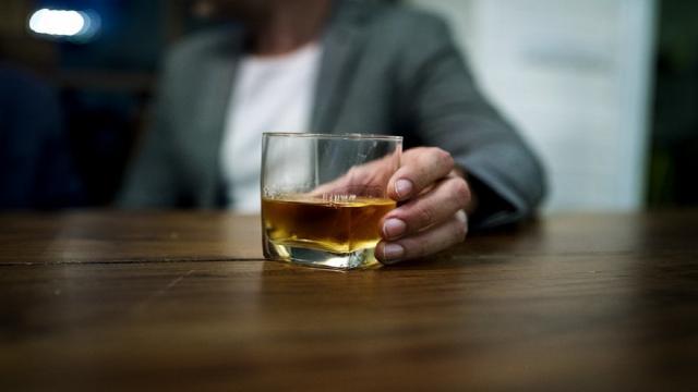 Alcohol glass