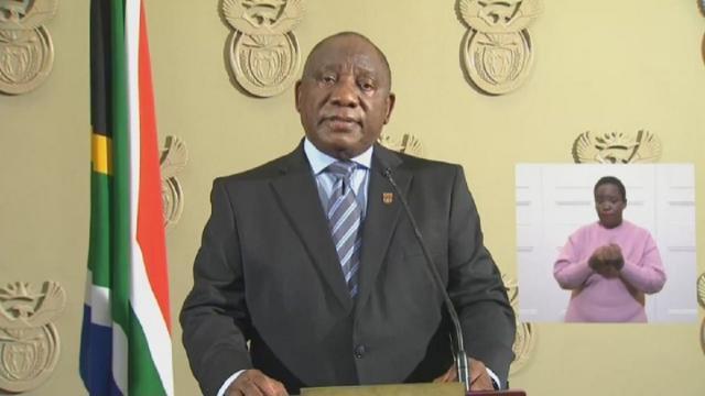 President Ramaphosa Addressing The Nation On New Lockdown Regulations