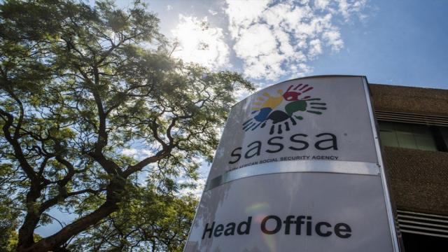 SASSA Head Office Sign