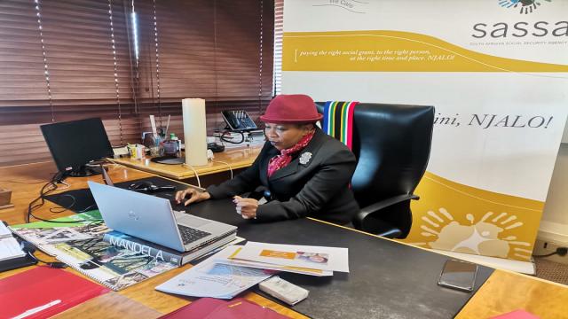 SASSA CEO Totsie Memela
