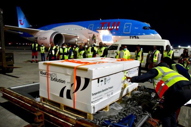 Johnson&Johnson vaccines arriving in SA