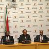 Minister Naledi Pandor, Deputy Minister Buti Manamela and DG Gwebs Qonde